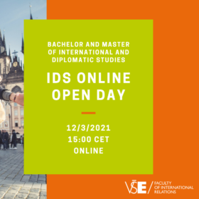 IDS Online Open Day – Friday, 12.3. from 3 pm