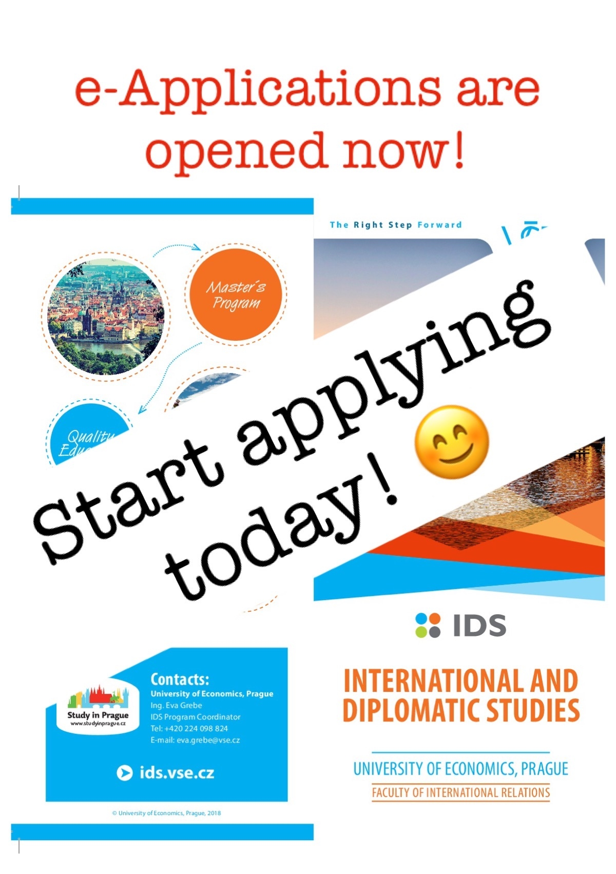 E-Applications are opened!